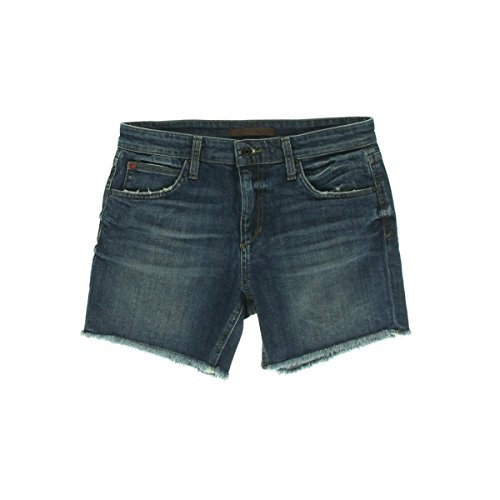 Joe's Jeans Women's Japanese Denim Cut-Off Boyfriend Short, Medium/Dark Blue, 27 Joes Jeans Joes Cut Off Shorts