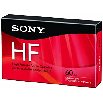 Sony C60HFR Single 60-minute Type 1 Audio Cassette Tape