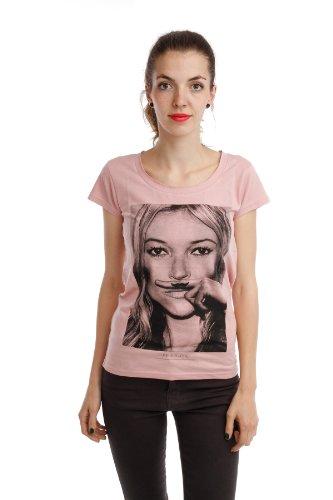 Eleven Paris -  T-shirt - Maniche corte  - Donna Pink - Anar (Rosa) 42
