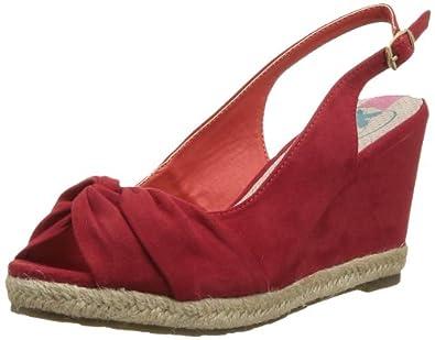 XTI 26902, Espadrilles femme - Rouge (Red), 38 EU