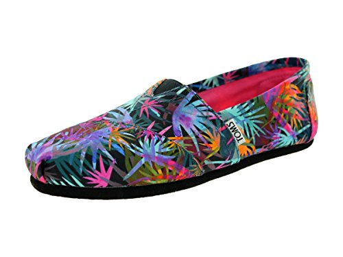 toms-womens-classic-black-multi-casual-shoe-8-women-us