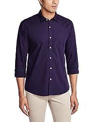 Ruggers Men's Casual Shirt (8907242790411_267695606_X-Large_Purple)