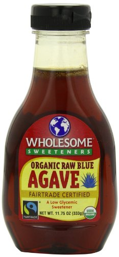 Wholesome Sweeteners Organic raw blue agave, 11.75-Ounce Bottles (Pack of 6) ####BERNELL JONES