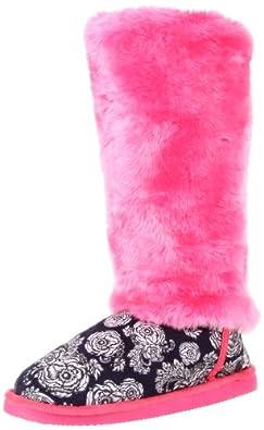 Iron Fist Women's Shotgun Fugg Boot,Pink/Navy,5 M US