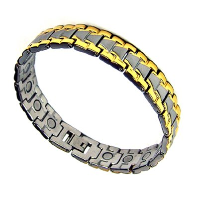 Men's Italian Style Magnetic Therapy Golf Bracelet 8.5″