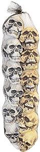 Halloween Decor Bag of Foam Skulls-12 count from Sunstar Industries
