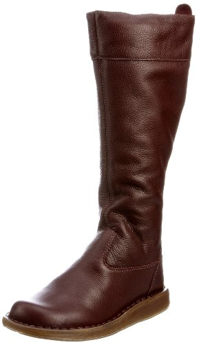 Dr Martens Women's Elena Deep Mahogany Side Zip Boot 13676201 3 Uk