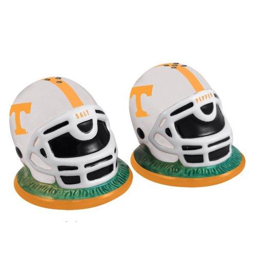 Ncaa University Of Tennessee Helmet Salt And Pepper Shakers