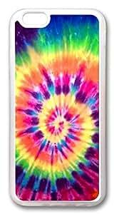 Amazon.com: iphone 6 plus 5.5inch CaseNice Tie Dye Rainbow TPU Custom