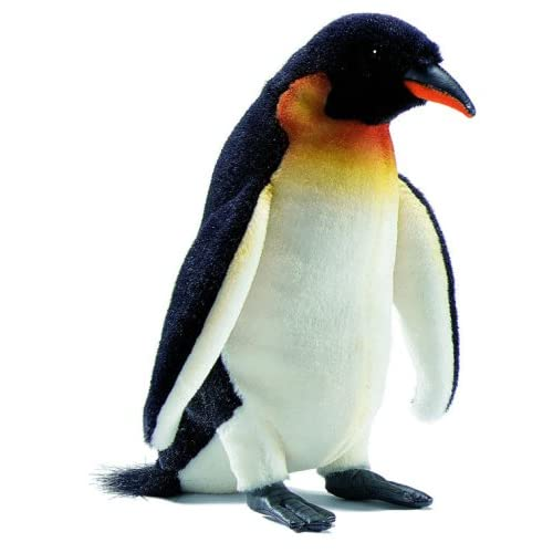 Hansa Emperor Penguin Stuffed Plush Animal, Small Toys