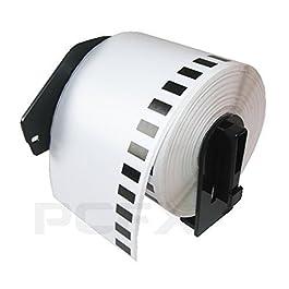 Brother - 3 Rouleaux d'étiquettes 62mm continus pour DK22205 QL500 QL 550 560 570 580 Brother DK-22205