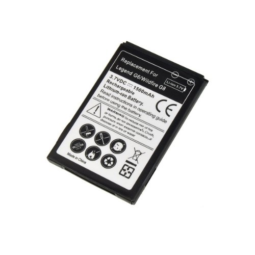 Click to buy 1500MAH 3.7V Battery Replacement for HTC Wildfire G8 Legend G6 - From only $33.99