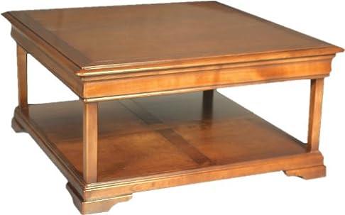 Tavolino quadrato doppio piano