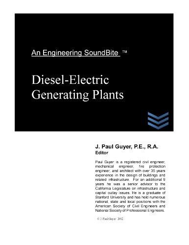 Diesel-Electric Generating Plants (Engineering Soundbites)