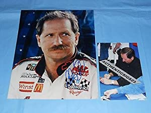 Dale Earnhardt Signed Rare Daytona Nascar 8x10 Photo Autographed Proof! - PSA DNA... by Sports Memorabilia