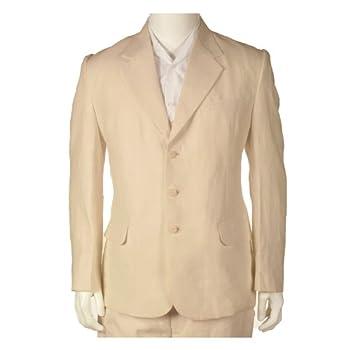 Final sale 100 % linen suit - pure light beige