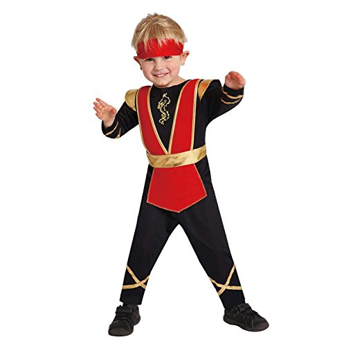 [Totally Ghoul Lil' Ninja Costume, Toddlers 4-6 years] (Toddler Lil Ninja Costumes)