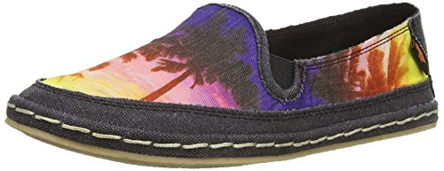 Rocket Dog - WHEELIE, espadrillas da donna, nero (schwarz (for real/sunny)), 39
