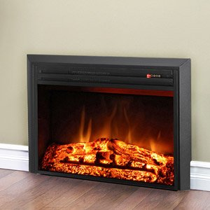 Muskoka 27 in. LED Electric Firebox with Logs image B00FMFQWM8.jpg