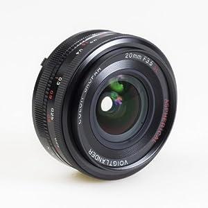 Amazon.com : Voigtlander Color Skopar 20mm f/3.5 SL-II
