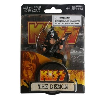 "KISS---GENE SIMMONS--""THE DEMON""---SUPERSTARS SERIES"