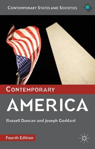 Contemporary America (Contemporary States and Societies Series)