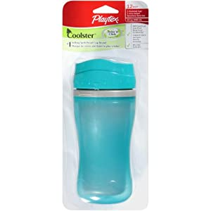 Playtex Insulated & Spill-Proof Cup, Coolster Tumbler, (Colors and Designs May Vary) 1 ea