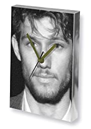ALEX PETTYFER - Canvas Clock (LARGE A3 - Signed by the Artist) #js002