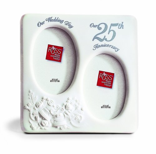 Russ 25th Anniversary Porcelain Frame - 1
