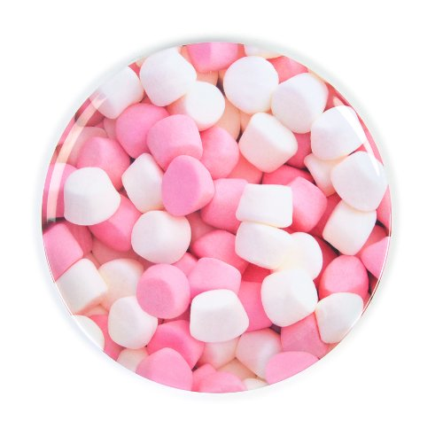 Marshmallows - Melamine 20cm Side Plate