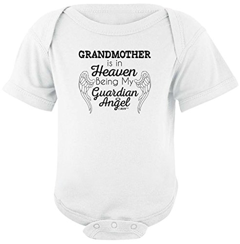 Baby Gifts For All Grandmother Heaven Being Guardian Angel Bodysuit
