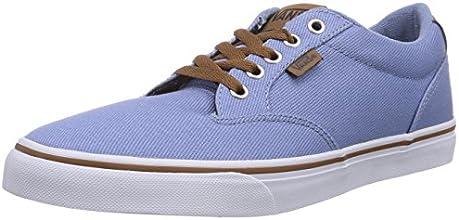 Vans M Winston, Baskets mode homme - Bleu (Twill Fdeddnm), 43 EU (10.0 US)