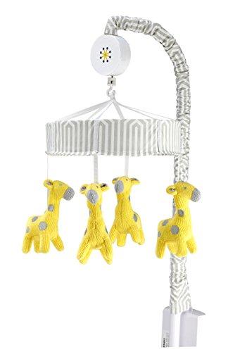Happy Chic Baby by Jonathan Adler Safari Giraffe Musical Mobile - 1