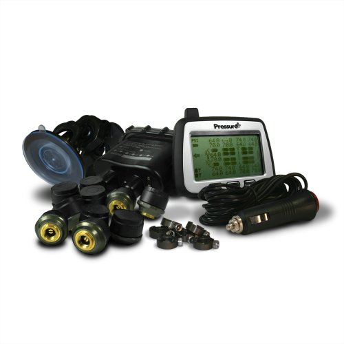 Pacific Dualies 80010 Pressureplus Fm Series Tpms 10-Sensor Tire Pressure And Temperature Monitoring System (Trailer Kits Not Included)