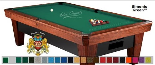 7 39 simonis 860 green pool table cloth felt sporting goods - Pool table green felt ...