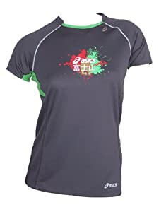 Asics Running Fitness Sportshirt Trail Top Femmes 0721 Art. 522423 Taille M