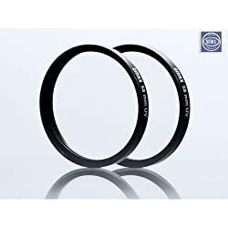 UV Filter For Canon Eos 700D with 18-55 & 55-250mm Lens (set of 2 Filter)