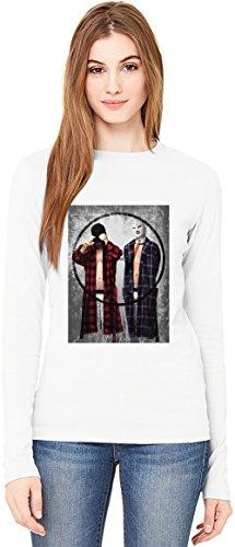 Twenty One Pilots T-Shirt da Donna a Maniche Lunghe Long-Sleeve T-shirt For Women| 100% Premium Cotton Ultimate Comfort Small