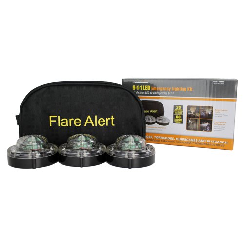 Flarealert 9.1.1-3W 'White' Led Emergency Beacon Kit