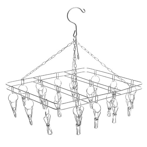 Laundry Drying Hanger Rack Clothes Towels Shoes Hanging