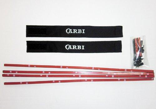 CARBI カービ自動車用 健康&ファッションカーテン 遮光ブラックタイプ Lサイズ「CB-50B」