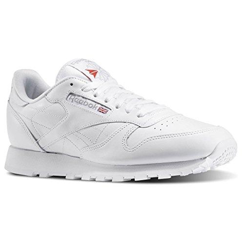 Reebok Men's Classic Leather Sneaker,White,10 M (Reebok Classics White compare prices)