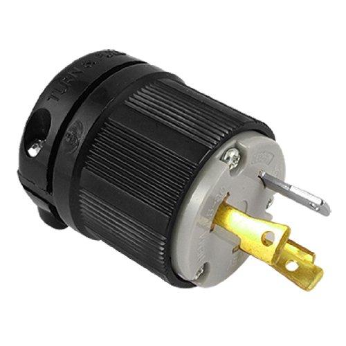 Ac 125V 30A Nema L14-30P 3-Prong Twist Lock Male Electrical Plug