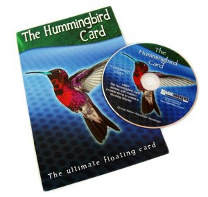 The Hummingbird Card With INSTRUCTIONAL DVD, The Ultimate Floating Card Magic Trick