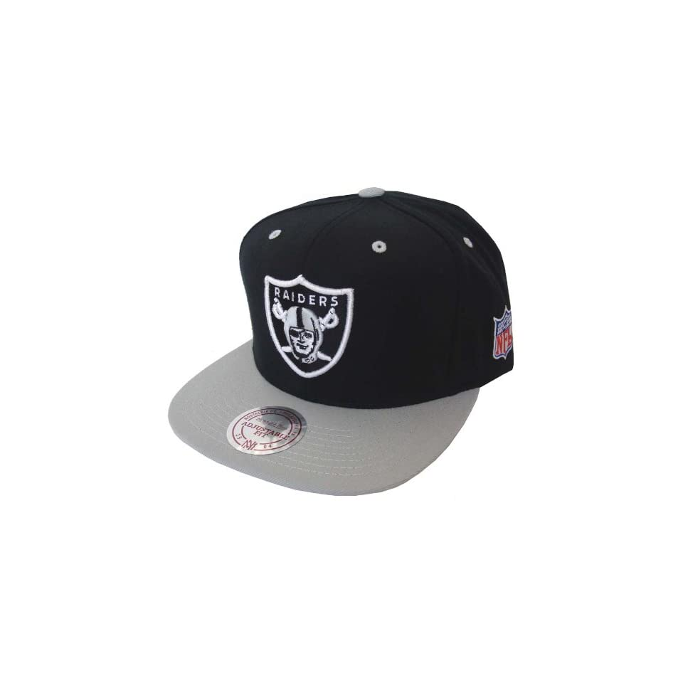 8eac8f267 Mitchell   Ness The NFL Arch Snapback Hat in Black   Silver