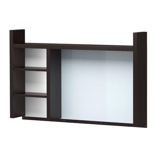 MICKE 追加ユニット 高, ブラックブラウン (IKEA) 301.800.28