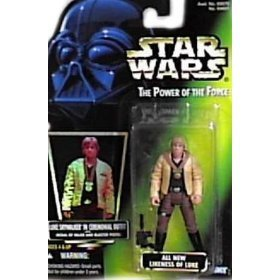 Star Wars: Power of the Force Hologram Luke Skywalker in Ceremonial Outfit Action Figure
