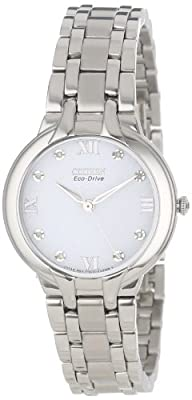 Citizen Women's EM0130-54A  Eco-Drive Bella Diamond Accented Watch