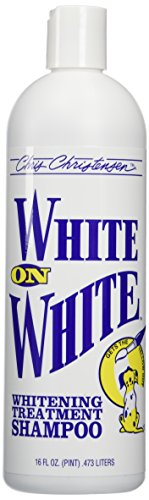 Chris Christensen White on White Shampoo for Pets,16 fl.oz.