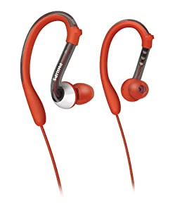 Philips ActionFit SHQ3000/28 Earhook Headphones Tuned for Sports (Discontinued by Manufacturer)